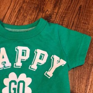 Carter's - 3 months - St Patty's Day T-shirt
